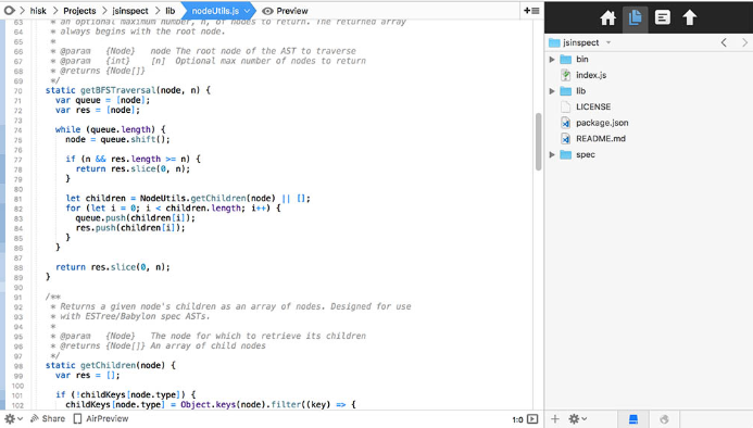TextMate Text Editor for Programming