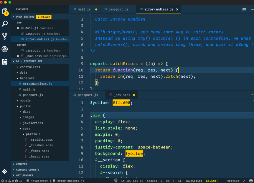 Visual Studio Code Text Editor for Programming