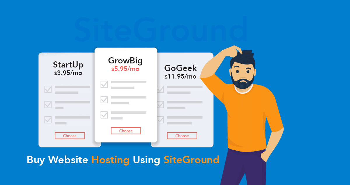 How to Buy Website Hosting Using SiteGround