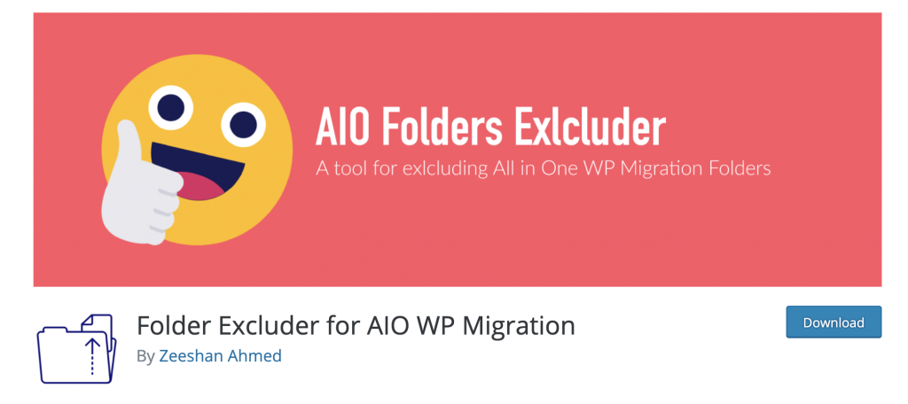 Folder Excluder for AIO WP Migration
